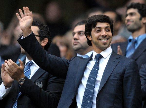 Le cheikh Mansour, propriétaire de Manchester City, en 2010.