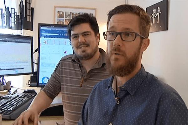 Alan et Mathieu sont à la tête d'SoS réputation à Bidart.