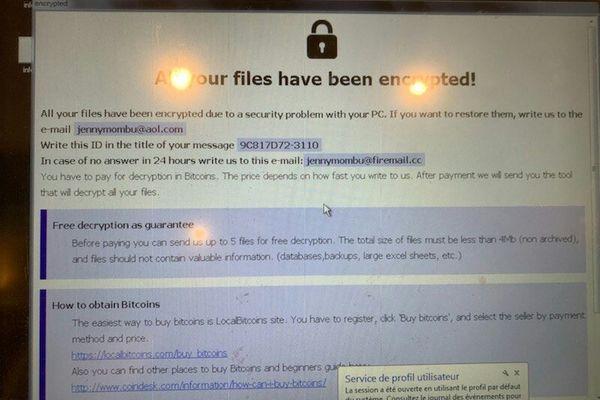 """Tout le système de comptabilité de la pâtisserie Wach a été piraté par un """"ransomware"""" (ou rançongiciel)."""