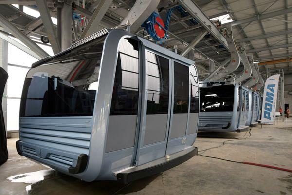 Démarrage de la phase de test de certaines cabines du téléphérique de Toulouse, ce 28 juillet.