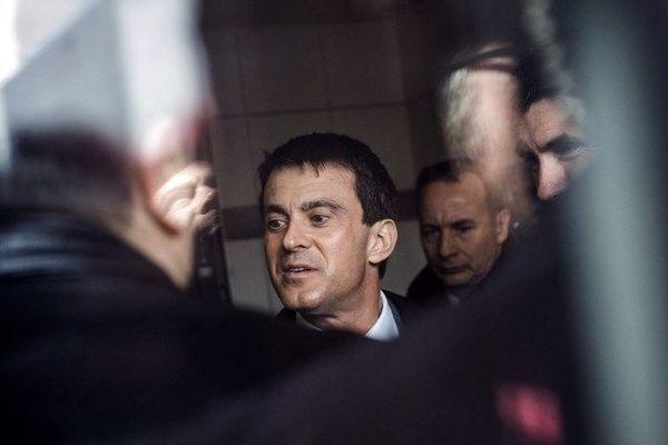 Manuel Valls le 12 avril 2013 en région parisienne