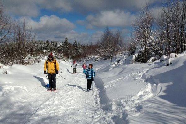 Conditions optimales pour un week-end de glisse ou de marche à Saint-Setiers
