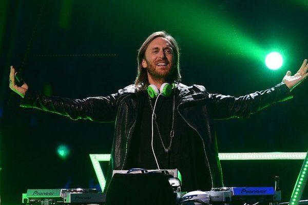 David Guetta à Las Vegas une ville qui lui va bien à la cash machine made in France