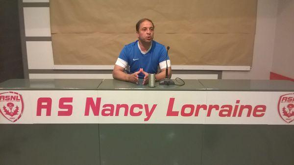 Pablo Correa, coach de l'AS Nancy Lorraine.