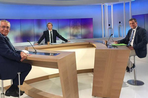 Municipales 2020 : celui de la ville de Perpignan avec Louis Aliot et Jean-Marc Pujol. Un débat animé par Olivier Meyer.