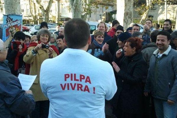 La joie des salariés de Pilpa à l'annonce de la décision du tribunal