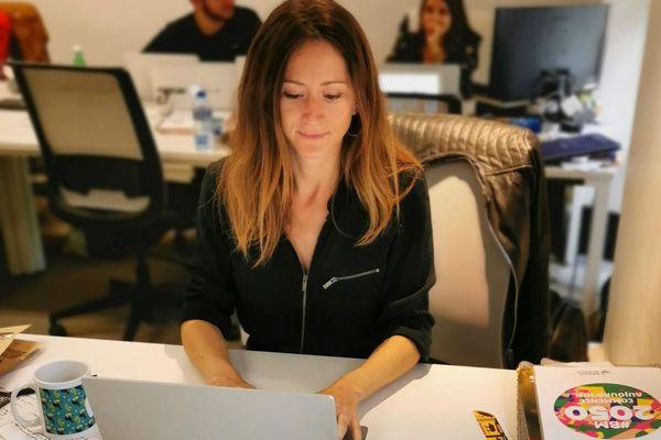 Aurore Vinzerich, experte start-up
