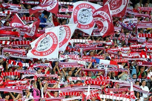 Les Dogues Virage Est au Grand Stade lors de LOSC-Copenhague, le 29 août dernier.