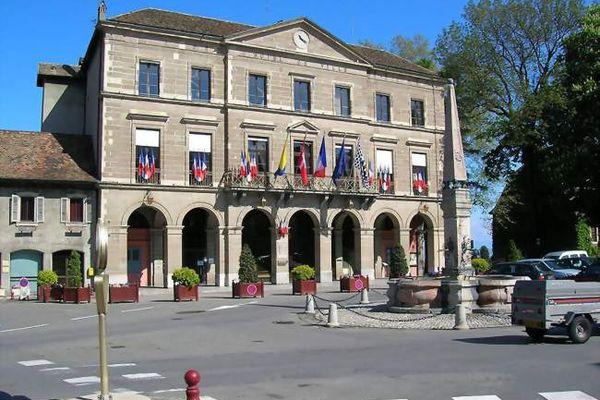 L'hôtel de ville de Thonon-les-Bains est classé monument historique