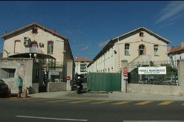 Caserne Auvare à Nice.