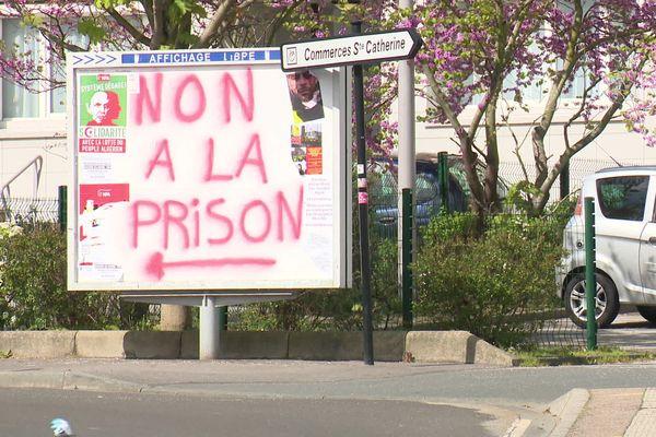 Les habitants du quartier de Mont-Gaillard ont affiché leur opposition au projet