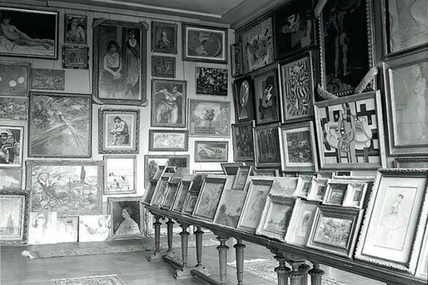 Salle des Martyrs, prise au Jeu de Paume, à Paris en 1940.