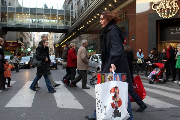 Les magasins des Grands Boulevards seront ouverts ce samedi malgré les manifestations de gilets jaunes.