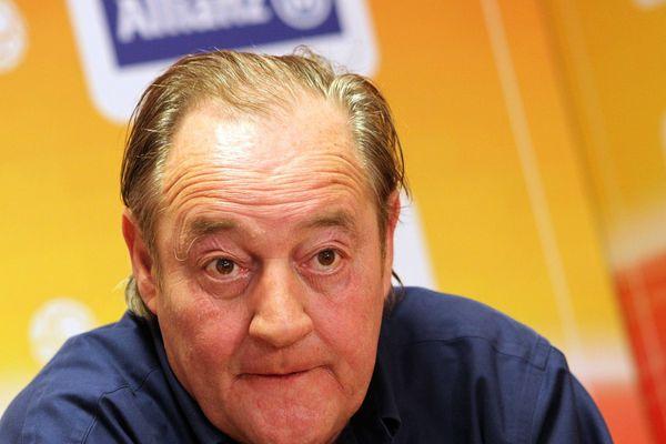 Gervais Martel, ancien et nouveau président du RC Lens, en Ligue 2.