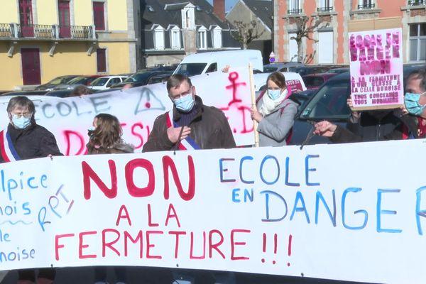 Manifestation à Guéret, le samedi 6 mars contre la carte scolaire