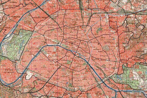 Carte topographique, dite type 1922, 1924-1947.