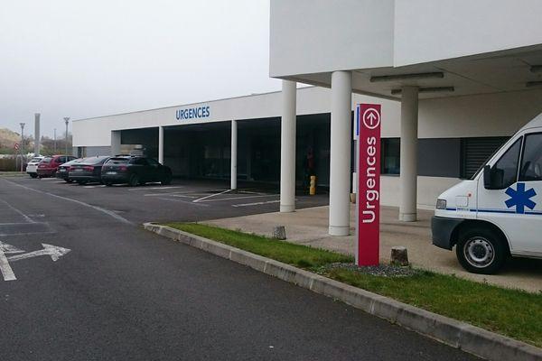 Les urgences de l'hôpital de Cognac.