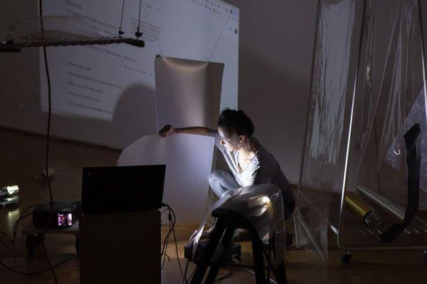 """Luana Lojić et sa performance """"Alpha Bending"""" figurent à la programmation des Rencontres Monde.s Multiple.s"""