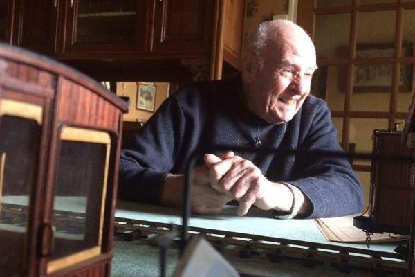 Alors petit garçon, André Faure, 87 ans, avait conduit le tramway de Saint-Laurent-sur-Gorre à Limoges