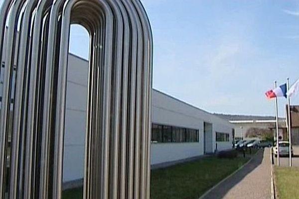 L'usine Valinox Nucléaire implantée à Montbard, en Côte d'Or, est un des principaux sites du groupe Vallourec