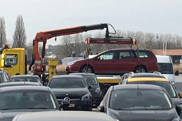 Le suspect roulait à bord de cette Citroën C5 break.