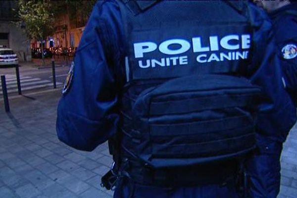 Plusieurs perquisitions ont été menées dans le centre-ville de Perpignan - 17 novembre 2015