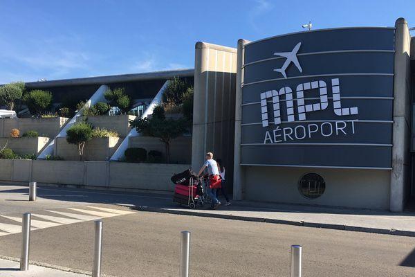 L'aéroport de Montpellier-Méditerranée - 2016.