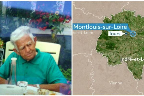 Roger Jouny a disparu le 27 juin à Montlouis-sur-Loire (Indre-et-Loire)