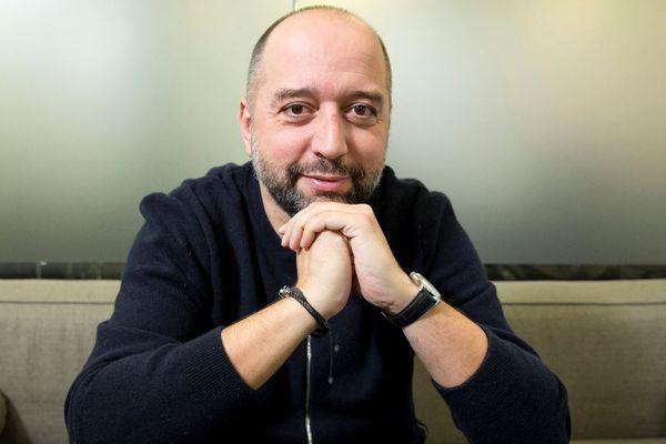 Gerard Lopez alors président du LOSC de Lille  en décembre 2019.