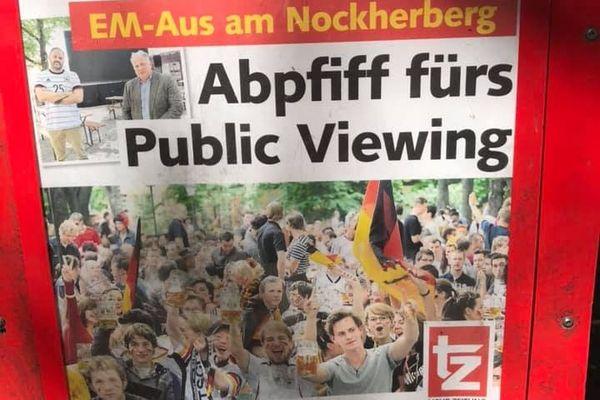 Les journaux locaux font leur une sur le manque de supporters