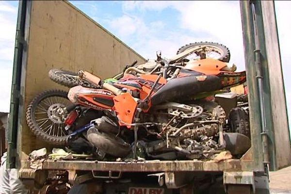 Destruction de deux-roues à Vernouillet (Eure-et-Loir)