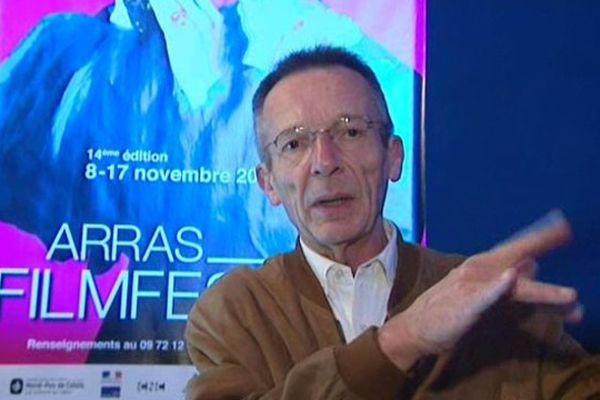 """Le réalisateur Patrice Leconte, connu pour ses comédies comme les Bronzés mais aussi pour son goût pour d'autres genres, à Arras. """"Cela m'empêche de ronronner"""", explique-t-il."""