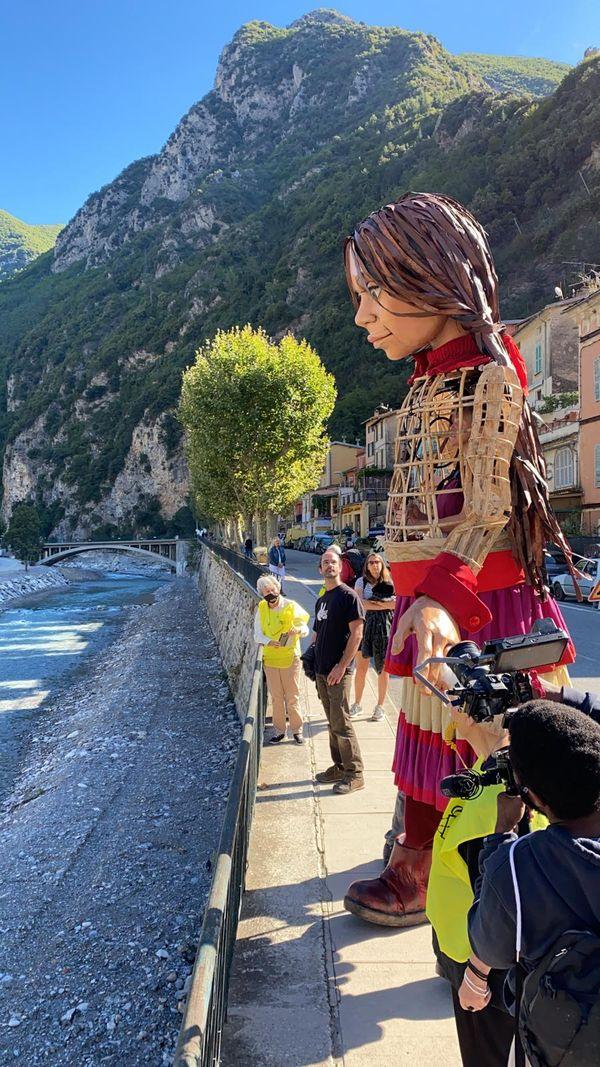 Amal est arrivée ce mardi 21 septembre en France, à Breil-sur-Roya dans les Alpes-Maritimes.