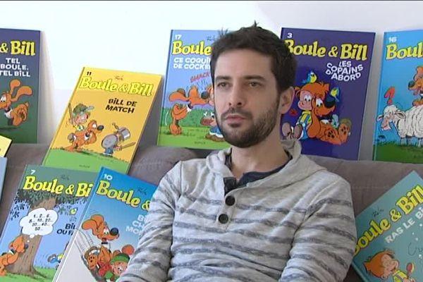 Jean-Bastide, le nouveau dessinateur de Boule et Bill.