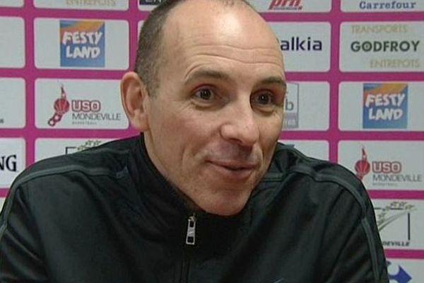 Hervé Coudray, lors de la conférence de presse du 15 janvier 2013