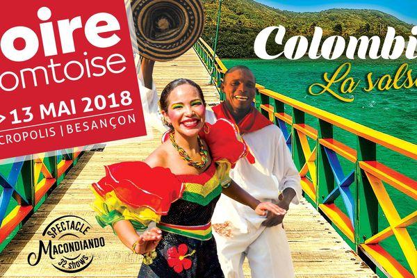 La Foire Comtoise met la Colombie en avant jusqu'au 13 mai