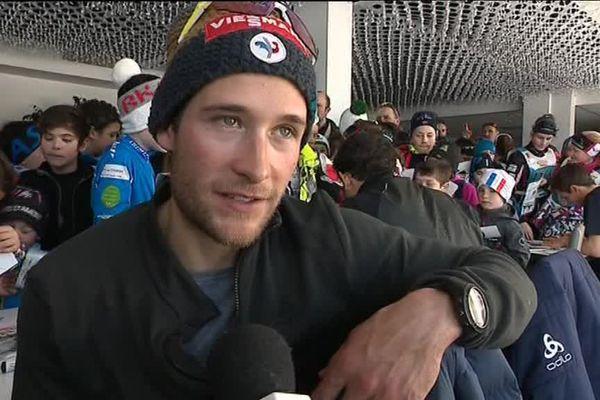 Interview de l'athlète