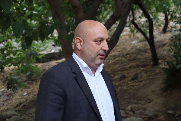 Lionel Mortini, conseiller exécutif en charge du dossier agriculture à la CdC.