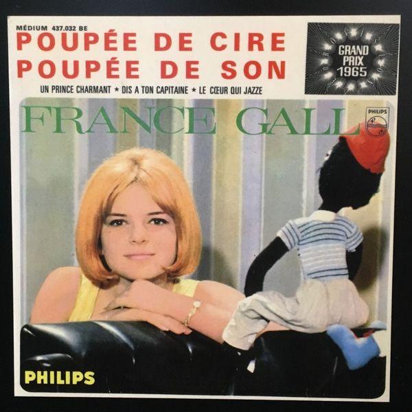 Pochette du disque de la chanteuse France Gall, Poupée de cire poupée de son