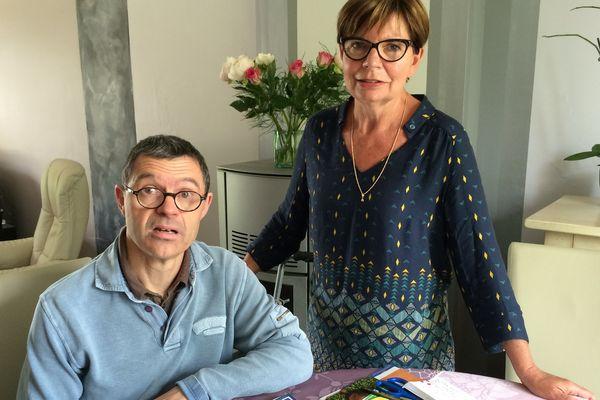 Jérôme vit aujourd'hui chez sa sœur Marie-Josée en attente d'un hébergement permanent