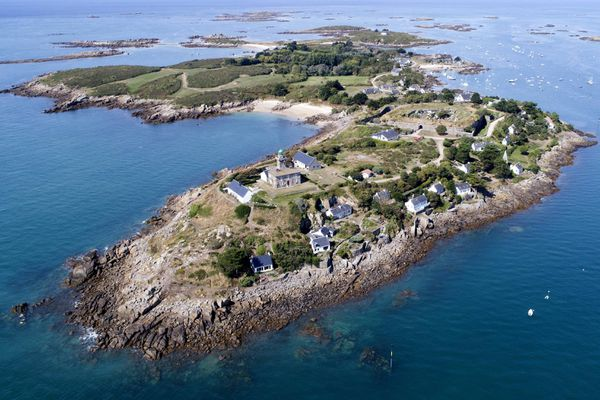 L'archipel des iles Chausey est devenu un lieu d'excursion très prisé