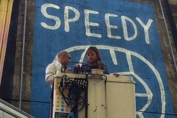 Street art : Speedy Graphito signe la plus grande fresque d'Europe