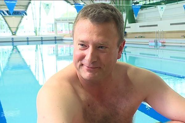 Nicolas Buyens, papa nageur en natation synchronisée