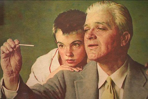 Norman Rockwell, illustrateur des scènes de la vie américaine
