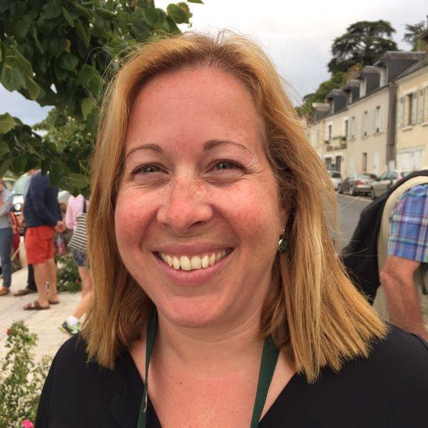 Virginie Berdal, historienne du château de Chambord