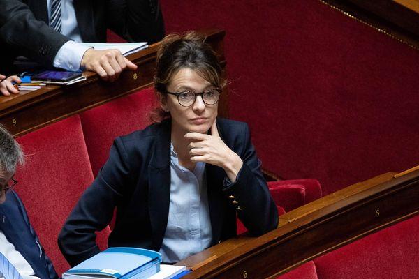 Emilie Bonnivard, députée Les Républicains, le 24 octobre 2018 à l'Assemblée nationale.