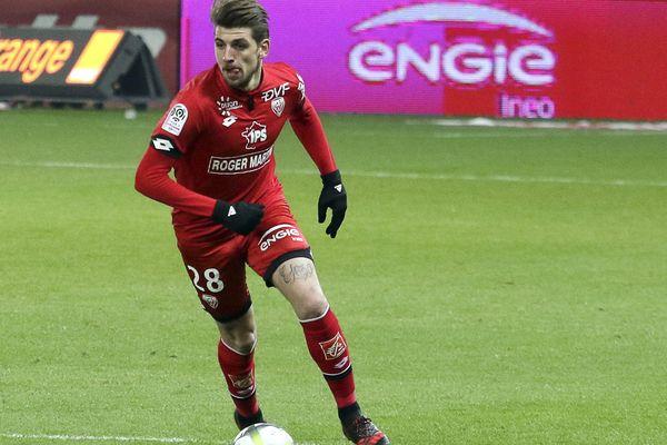 Xeka, qui appartient au LOSC depuis l'été dernier, a été prêté pour la saison à Dijon.