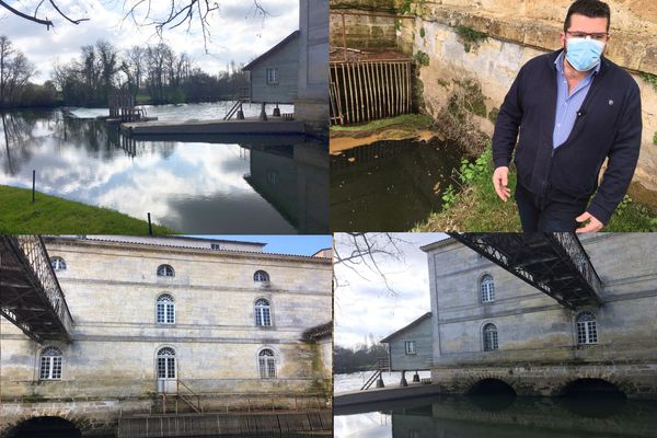 David Redon, maire de la commune voisine Porchères en aval de l'usine Corenso déplore que les rejets aient aussi atteint son site touristique du moulin de Porchères
