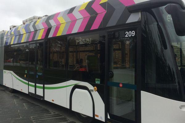 Présentation du eBusway à Nantes le 26 septembre 2019