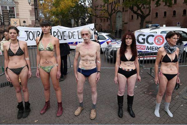 Cinq des six derniers grévistes de la faim qui  s'opposent au GCO de Strasbourg